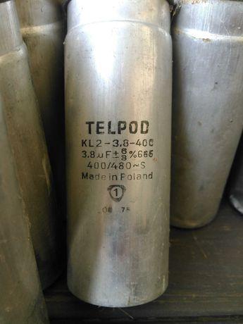 Пусковой конденсатор Telpod kl2-3.8-400