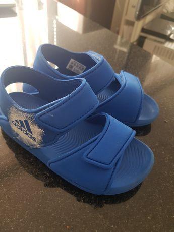 Nike sandały niebieskie