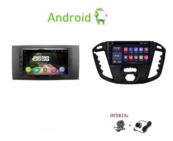 (NOVO) Rádio 2DIN • Ford TRANSIT • Connect  Tourneo  Custom • Android