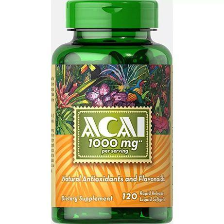 Acai 1000mg. Укрепляет иммунитет , очищает организм.