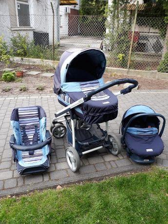 Wózek dla dziecka 3 w 1 BEBECAR