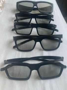 Okulary 3D zestaw 5 sztuk