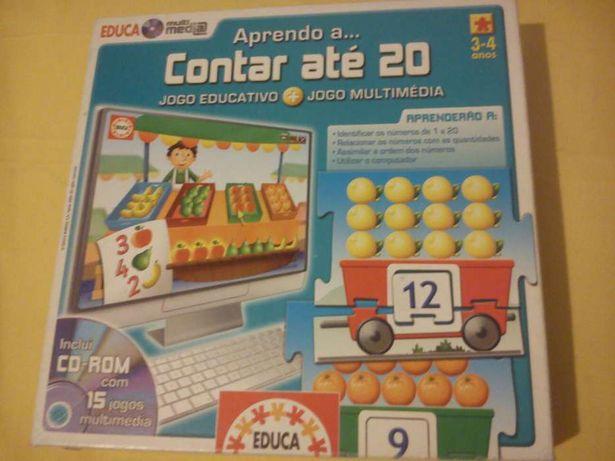 Diversão aprendizagem em casa DVD + jogo interativo