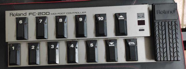 Controlador MIDI Roland FC-200