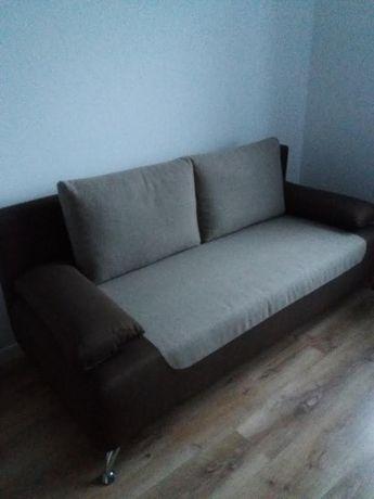 Sofa z funkcją spania BlackRedWhite
