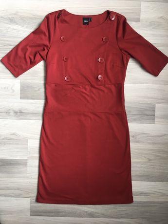 Платье с застежкой на пуговицах Asos