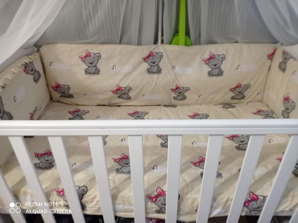 7в 1 набору в кроватку