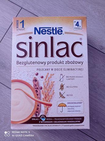 Nestle sinlac bezglutenowy produkt zbożowy
