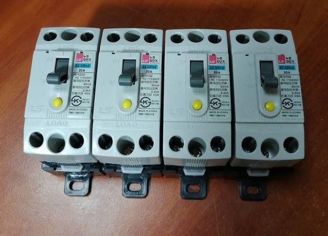 Дифавтомат LS is 20 А (LG Корея) тип 32 GRhd