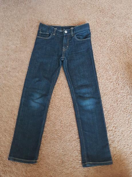 Spodnie h&m chłopięce 122
