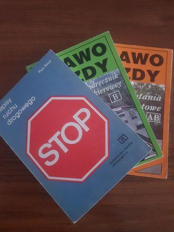 Ksìążki do prawa jazdy