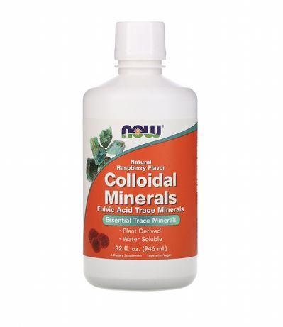 Now Foods, Colloidal Minerals (946 мл), коллоидные минералы