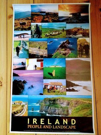 Plakat Irlandia 54x86,5cm/ Tuba GRATIS!
