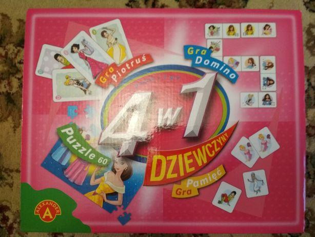 Puzzle 30el karty domino pamięć Dziewczyny