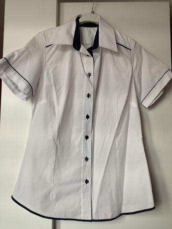 Koszula damska krótki rękaw M L