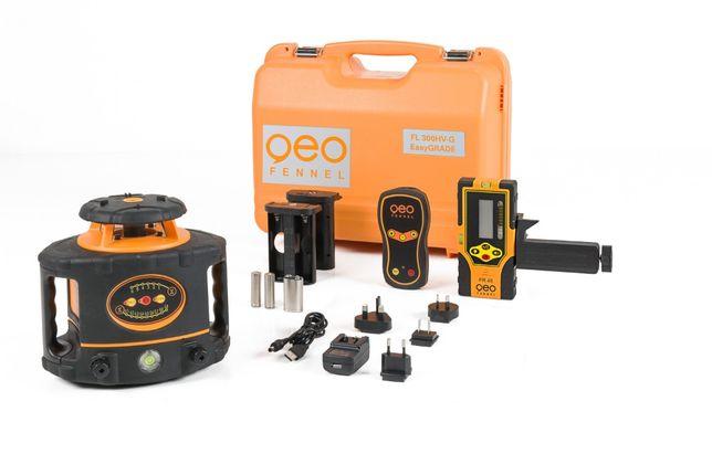 Niwelator laserowy Geo Fennel FL300HV-G łatwe ustawianie spadków