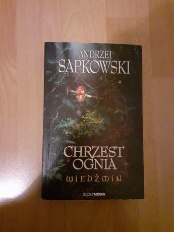 Chrzest ognia Andrzej Sapkowski