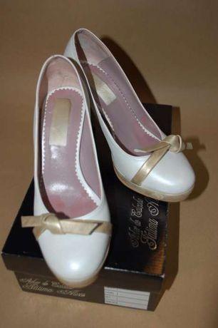 Sapatos de Noiva - Fátima Alves 35,5 (equivale a 36)
