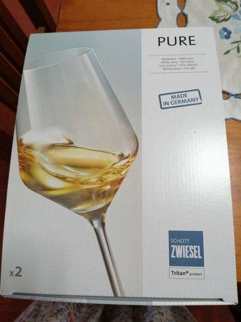 Copos de vinho branco coleção continente