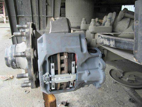 Ремонт тормозных суппортов грузовых автомобилей и прицепов