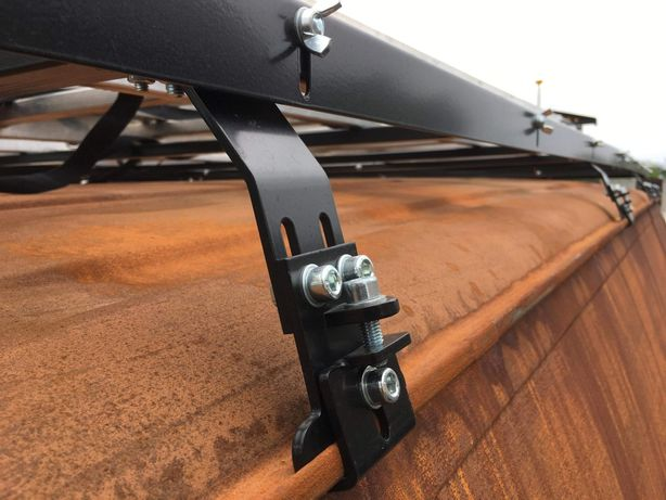 Uchwyt mocowanie bagażnika dachowego do rynienki