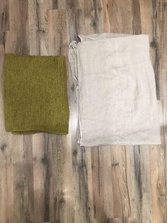Шарф-хомут/вязанный шарф/тонкий хомут