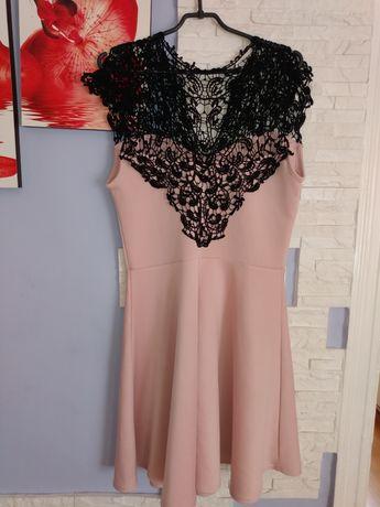 Sukienka rozkloszowana l/xl