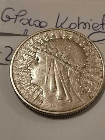 Zestaw monet i banknotów srebro i PRL Polonia Rybak Marki