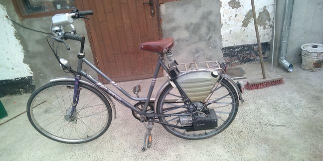 Велосипед-Мопед SACHS-Herkules с бензиновым мотором .3 шт