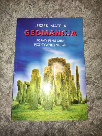 Geomancja formy feng shui pozytywne energie, książka Leszek Matela