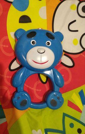 Погремушка-медведь
