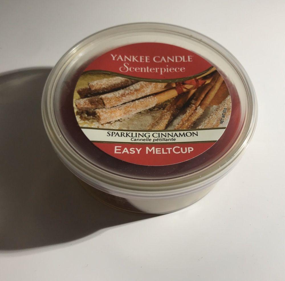 Yankee Candle Easy Meltcup cynamonowa