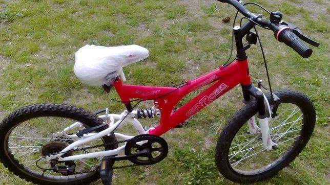"""Czerwony rowerek 20"""""""
