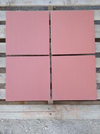 Tijoleira de barro para chão 30x30 cm