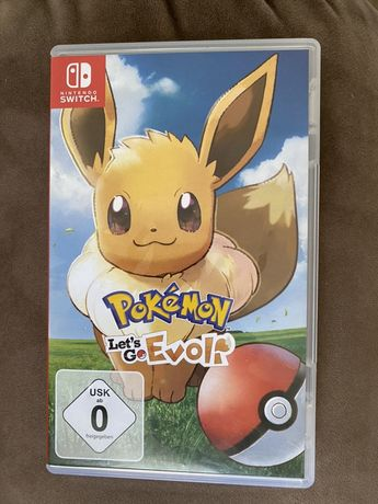 Gra Nintendo Switch Pokemon Let's Go Eevee