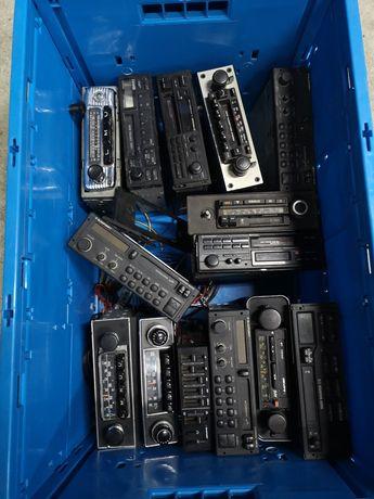 Stare radia samochodowe, Blaupunkt, pioneer, Bavaria, toyota sprawne
