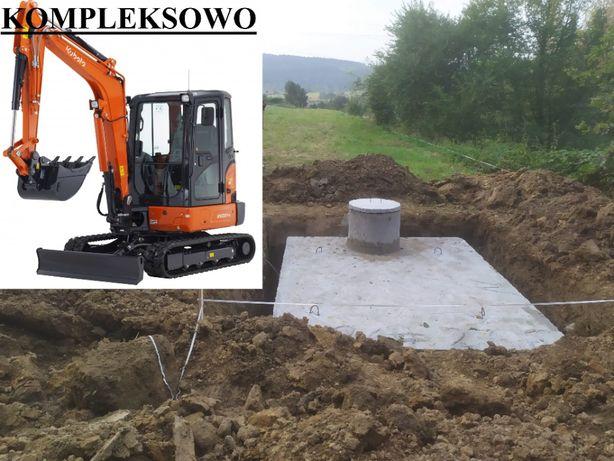 Szamba/Szambo betonowe Zbiorniki/Zbiornik betonowy Puławy Osiny Załazy