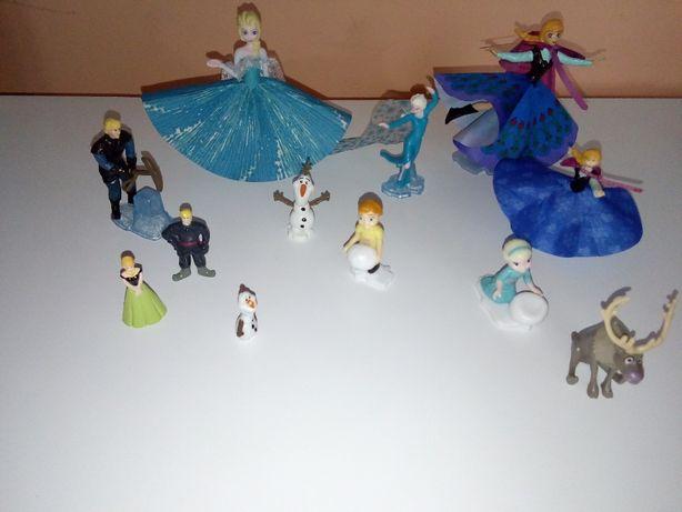 frozen Anna Elsa kraina lodu Swen Olaf figurki nowe