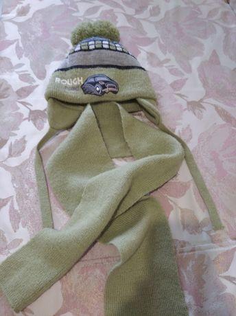 Шапка, шарф ,комплект