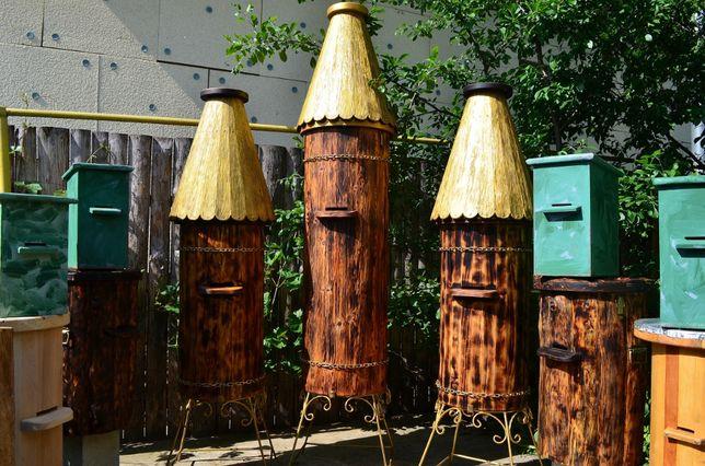 Улья, улей, улики, вулик, колода для пчел, лавушки