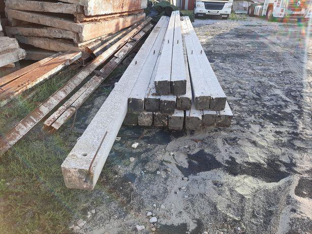 Столбы электрические бетонные лэп,опора высоковольтная.
