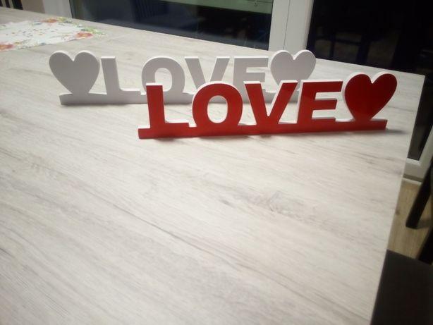 Napis Love 3d pcv