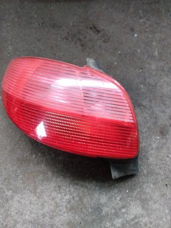 Lampa lewa tylna Peugeot 206