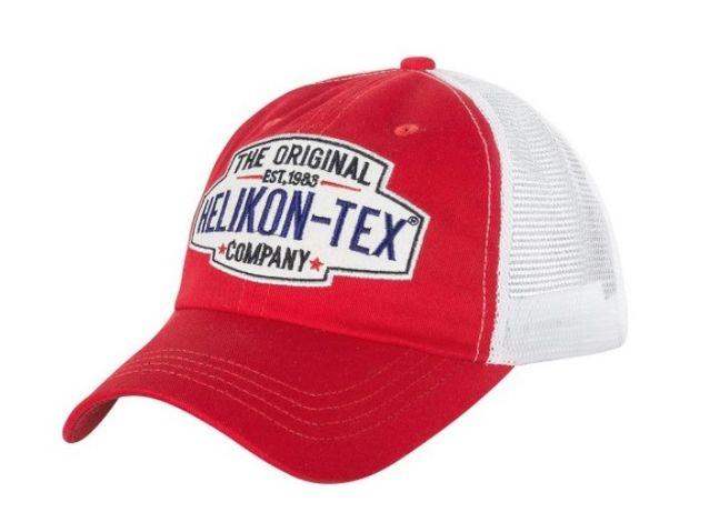 Czapka z daszkiem Helikon Trucker Logo - czerwona