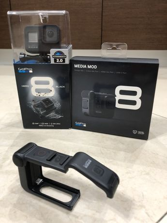 GoPro Hero 8 Black + GoPro Media Mod