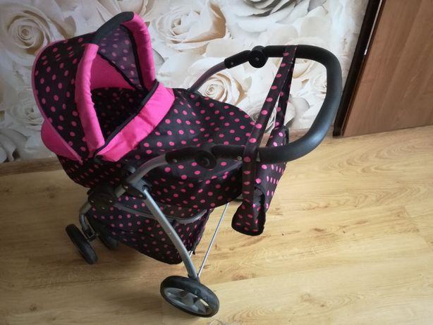 Wózek dla lalki głęboki i spacerowy 2w1