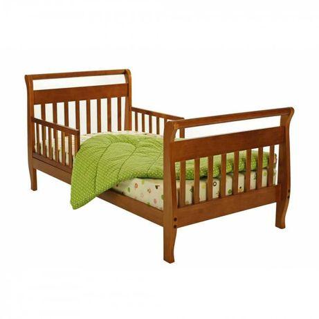 Кровать детская (3-10лет) деревянная с матрасом