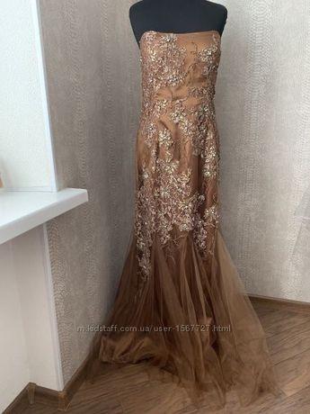 Торжественное платье, платье вечернее эксклюзивное платье