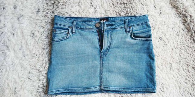 Spódnica jeansowa 34 xs Habrowa