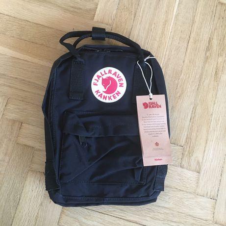 Plecak kanken mini 7L black czarny